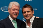 CAN-DO - Eric Klein with President Clinton